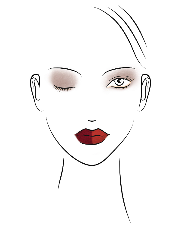 La Biosthétique Make-Up Kollektion Herbst-Winter 2020/2021 Look 1 - Brave - Make-Up